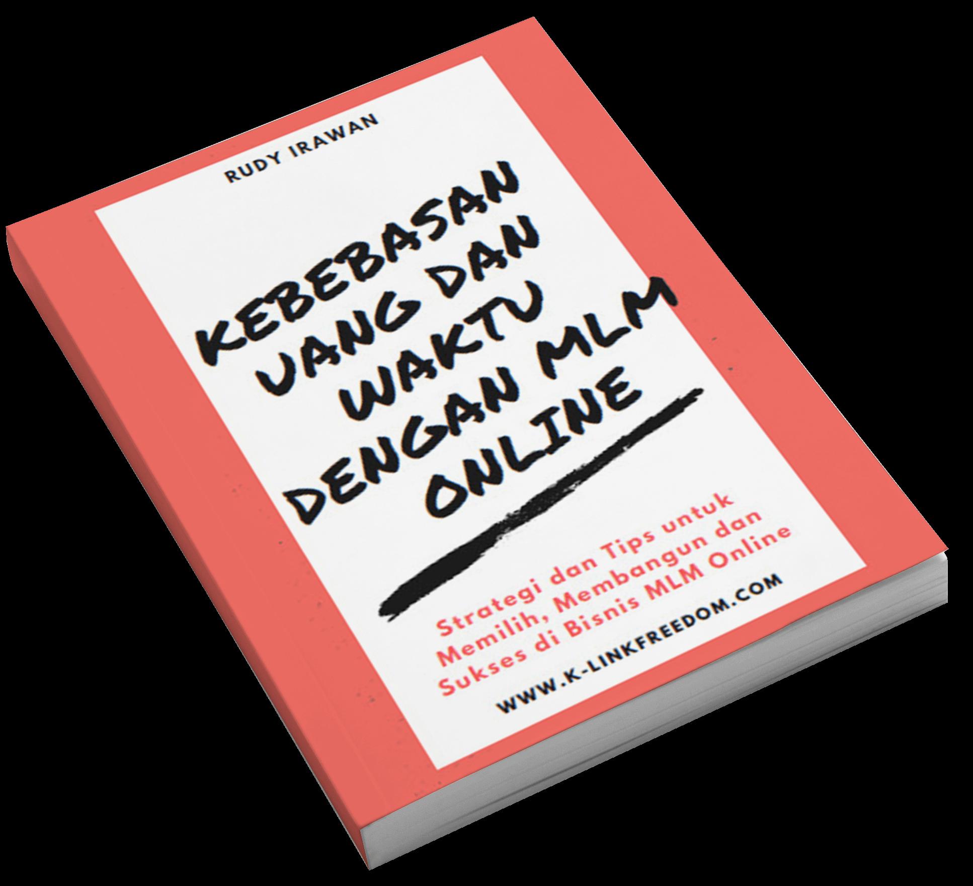 ebook kebebasan uang dan waktu dengan mlm k-link indonesia